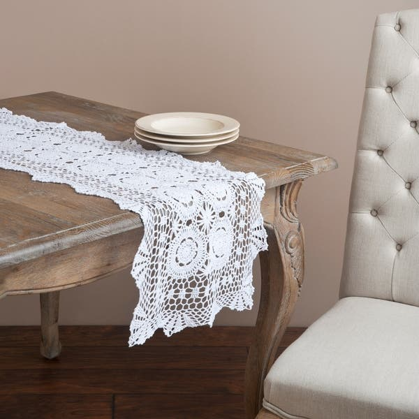 Shop Handmade Crochet Lace Table Linens - Free Shipping On Orders