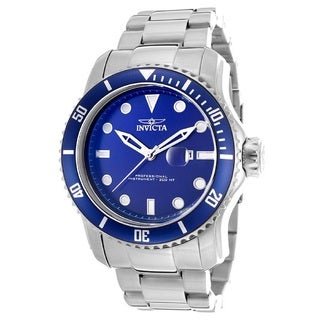 Invicta Men's 'Pro Diver 15076' Blue Dial Watch