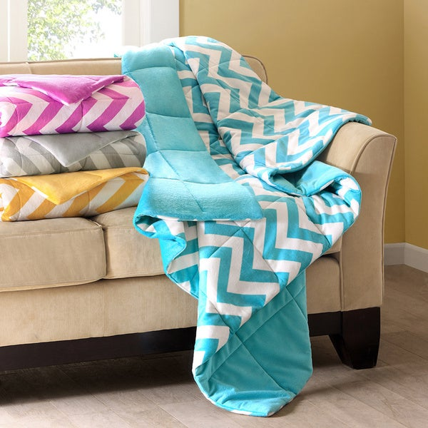 Intelligent Design Chevron Down Alternative Throw