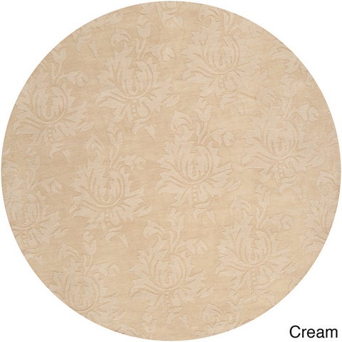 Hand-loomed Otero Two-tone Contemporary Floral Wool Area Rug