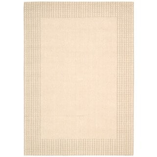 kathy ireland Cottage Grove Bisque Area Rug by Nourison (5'3 x 7'5)