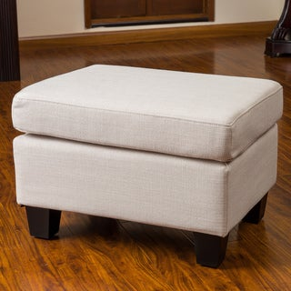 Rosella Fabric Ottoman by Christopher Knight Home