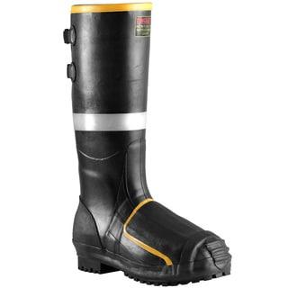 Metatarsal Men's Black 16-inch Steel Toe Boots