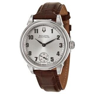 Bulova Accutron Men's 'Gemini' Stainless Steel Swiss Mechanical Manual Watch