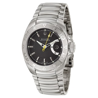 Bulova Accutron Men's 'Curacao' Stainless Steel Swiss Mechanical Automatic Watch