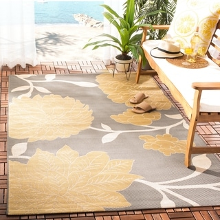 Safavieh Courtyard Alison Floral Indoor/ Outdoor Rug