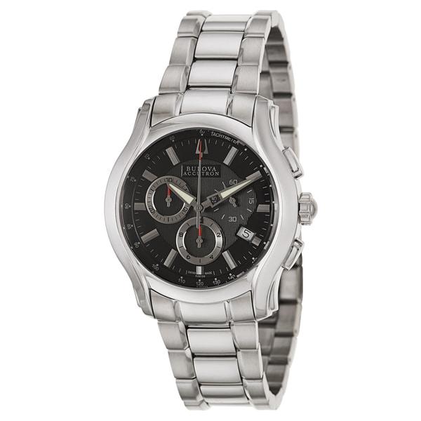 Bulova Accutron Men's 'Stratford' Stainless Steel Chronograph Watch