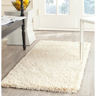 Safavieh California Cozy Plush Ivory Shag Rug (2'3 x 5')