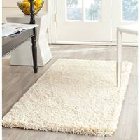 "Safavieh California Cozy Plush Ivory Shag Rug - 2'3"" x 5'"