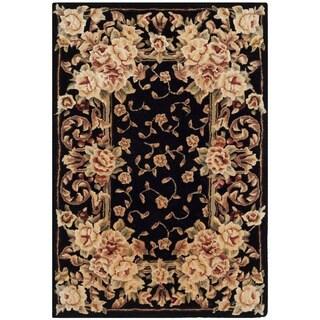 Safavieh Handmade Persian Court Multicolored Wool/ Silk Rug (2' x 3')