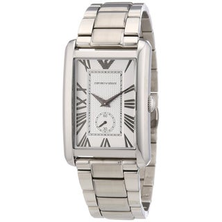Emporio Armani Men's 'Classic Silver AR1607' Stainless Steel Watch