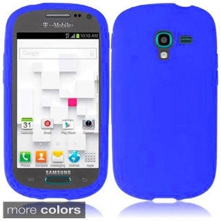 INSTEN Soft Silicone Skin Phone Case Cover for Samsung T599 Galaxy Exhibit
