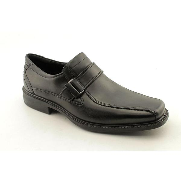 8f30c80a98 Shop Ecco Men's 'New Jersey Buckle' Leather Dress Shoes (Size 8 ...
