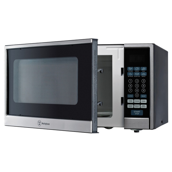 Westinghouse Black / Stainless Steel 1.1 Cubic Feet Microwave