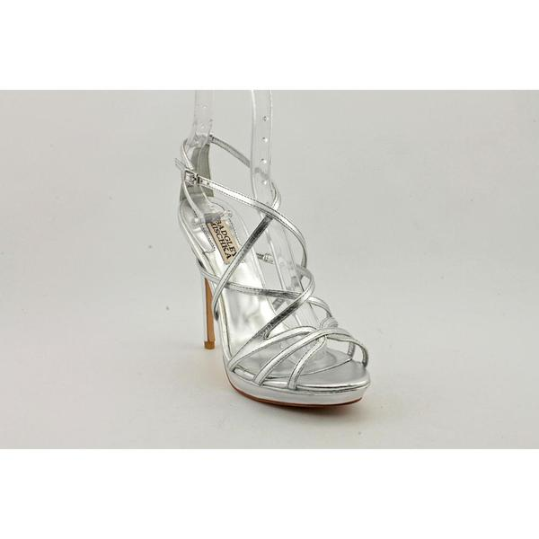 Badgley Mischka Women's 'Adonis II' Leather Sandals (Size 6.5 )