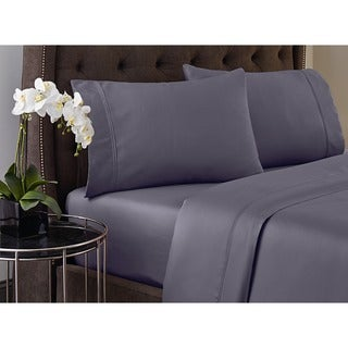 Crowning Touch by Welspun Cotton 500 Thread Count Wrinkle-resistant with Fade No More Flexi Fit Sheet Set