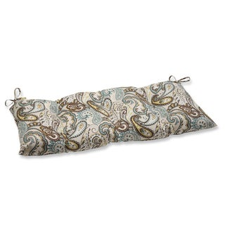 Pillow Perfect Outdoor/ Indoor Tamara Paisley Quartz Swing/ Bench Cushion
