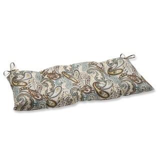 Pillow Perfect Outdoor/ Indoor Tamara Paisley Quartz Swing/ Bench Cushion