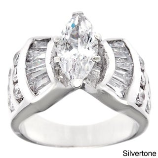 Simon Frank 'The Grand Marquise' 1.62 EDW CZ Center Bridal Inspired Ring