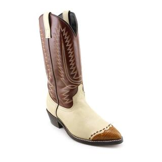 Laredo Men's 'Lizard' Man-Made Boots - Extra Wide (Size 8 )