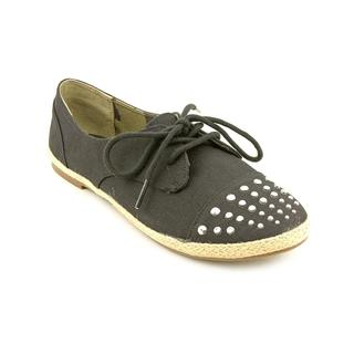 Material Girl Women's 'Button' Basic Textile Casual Shoes