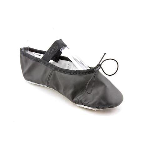 Capezio Girl (Youth) 'Daisy' Leather Athletic Shoe (Size 5 )