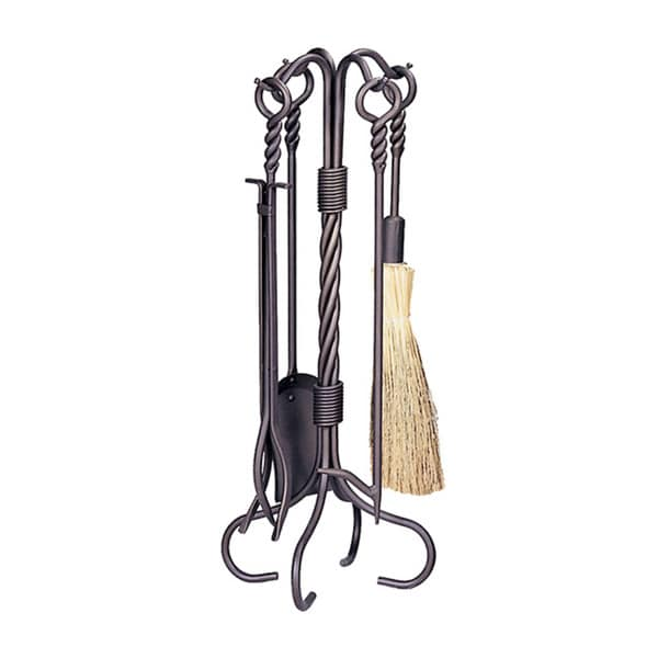 shop 5 piece fireplace tool set ships to canada overstock 8737618 rh overstock ca 5 piece brass fireplace tool set 5-piece fireplace tool set with log rack