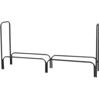 60-inch Black Log Rack