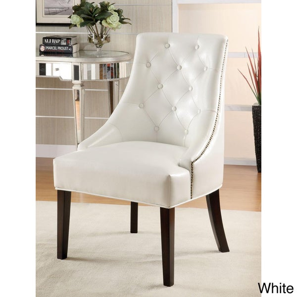 Shop White Tufted Accent Chair