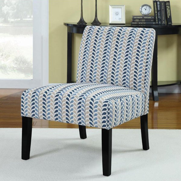 Superbe Leaf Plush Oversized Accent Chair