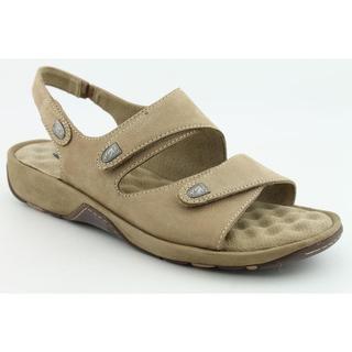 Softwalk Women's 'Bolivia' Nubuck Sandals - Narrow (Size 10 )