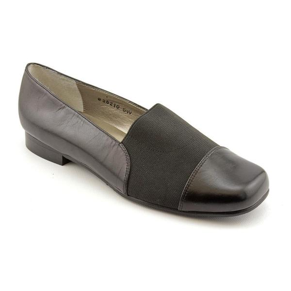 36210' Leather Casual Shoes - Wide