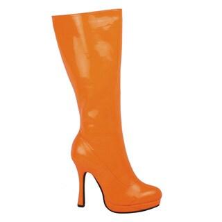 Ellie Women's '421-Zenith' Neon Knee-high Boots