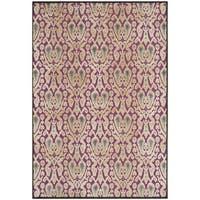 Safavieh Paradise Anthracite/ Fuchsia Viscose Rug - 8' x 11'2