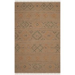 Safavieh Hand-knotted Safari Multicolored Wool Rug (8' x 10')