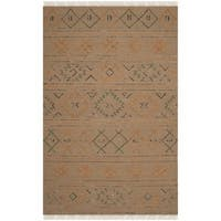 Safavieh Hand-knotted Safari Multicolored Wool Rug - 8' x 10'