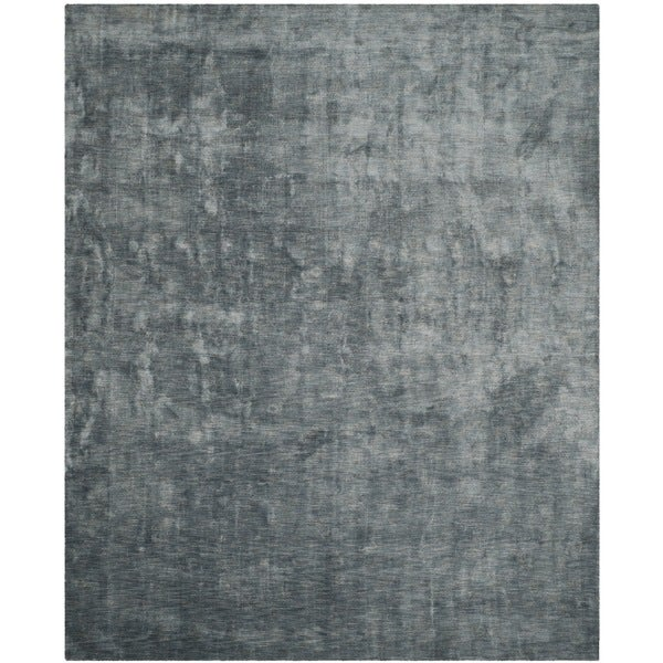 Safavieh Handmade Mirage Modern Blue/ Grey Viscose Rug - 9' x 12'