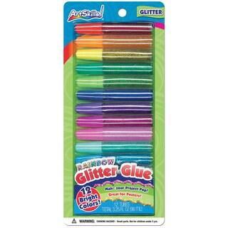 Rainbow Glitter Glue .28oz 12/Pkg