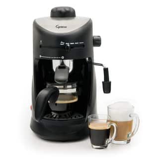 Capresso 4-Cup Espresso & Cappuccino Machine|https://ak1.ostkcdn.com/images/products/8746586/Capresso-4-Cup-Espresso-Cappuccino-Machine-P15992031.jpg?impolicy=medium