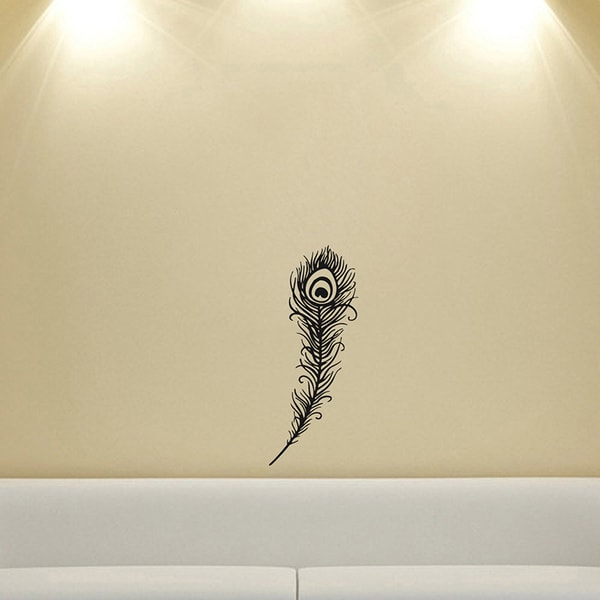Feather Housewares Wall Vinyl Decal