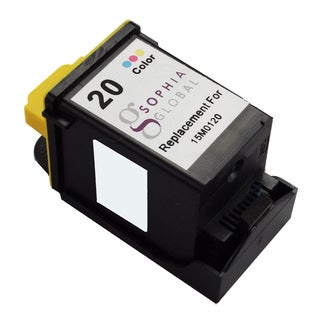Sophia Global Remanufactured Color Ink Cartridge for Lexmark 20