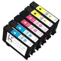Sophia Global Compatible Ink Cartridge Replacement for Lexmark 100 (2 Cyan, 2 Magenta, 2 Yellow)