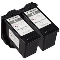 Sophia Global Remanufactured Ink Cartridge for Lexmark 42 (2 Black)