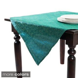 Satin Net Design Table Topper