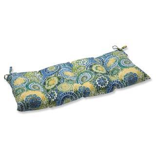 Shop Pillow Perfect Outdoor Indoor Santa Maria Azure