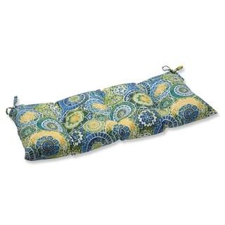 Pillow Perfect Outdoor/ Indoor Omnia Lagoon Swing/ Bench Cushion