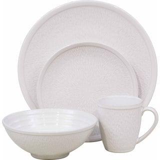 Sango Spectrum White 16-piece Dinnerware Set