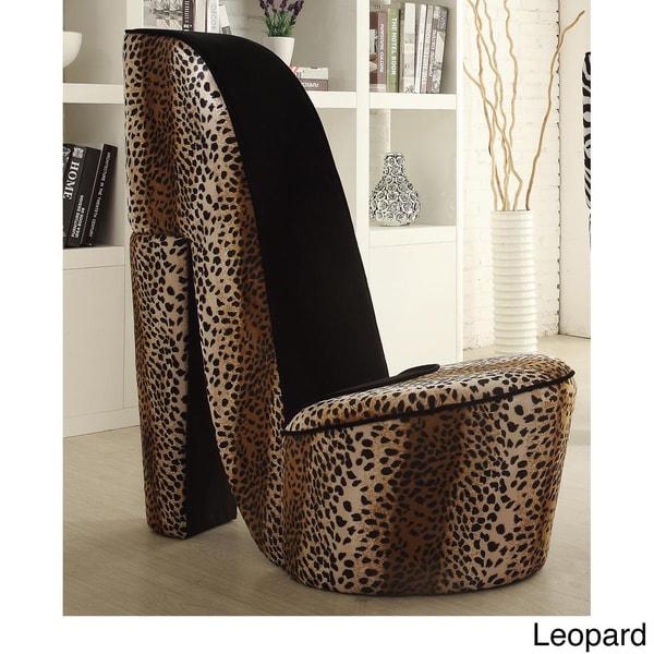 High Heel Chair High Heel Shoe Chair Home Pink Zebra Stiletto