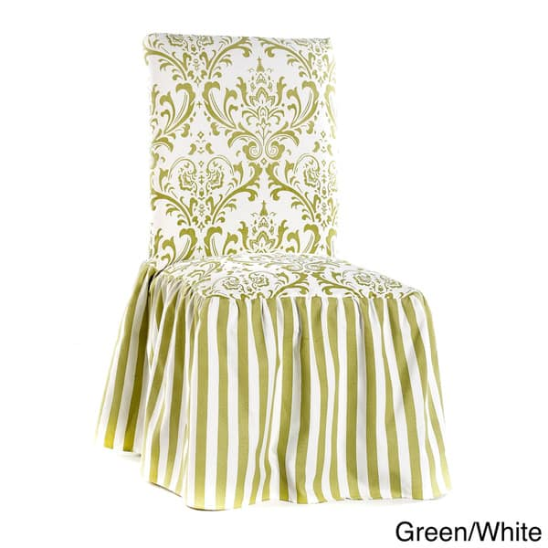 Damask And Stripe Dining Chair