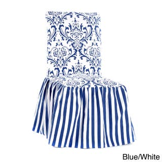Buy Blue Microsuede Chair Covers Slipcovers Online At Overstock